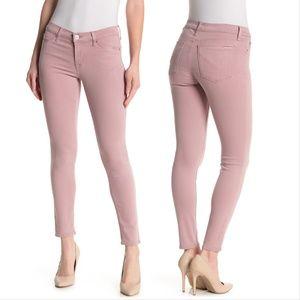 Hudson Krista Ankle Super Skinny Fleur Pink Jeans
